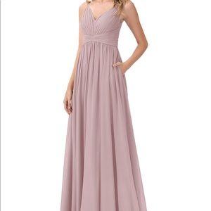 Azazie Serena Vintage Mauve Bridesmaid Dress